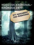 Cover for Ett makabert 100-årsminne