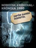 Cover for Inför dansk domstol