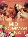 Cover for Midsommarnatt - erotisk novell