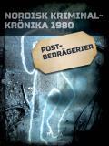 Cover for Postbedrägerier