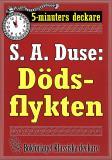 Cover for 5-minuters deckare. S. A. Duse: Dödsflykten. Återutgivning av text från 1915
