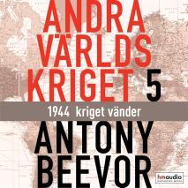 Cover for Andra världskriget, del 5. 1944 - kriget vänder