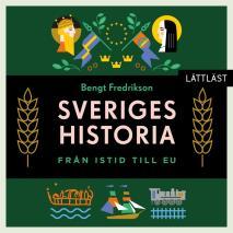 Cover for Sveriges historia – Från istid till EU / Lättläst