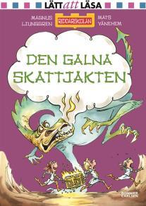 Cover for Den galna skattjakten