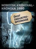 Cover for Ökat industrispionage