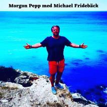 Cover for Morgon Pepp med Michael Fridebäck
