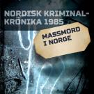 Cover for Massmord i Norge