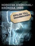 Cover for Epilog till Granbacken