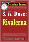 Cover for 5-minuters deckare. S. A. Duse: Rivalerna. Berättelse. Återutgivning av text från 1916