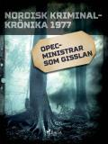 Cover for OPEC-ministrar som gisslan