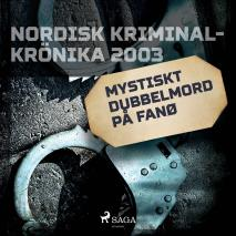 Cover for Mystiskt dubbelmord på Fanø
