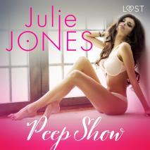Cover for Peep show - erotisk novell