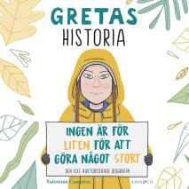 Cover for Gretas historia: Ingen är för liten för att göra något stort