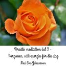 Cover for Kreativ meditation - del 3