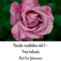 Cover for Kreativ meditation - del 5