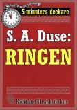 Cover for 5-minuters deckare. S. A. Duse: Ringen. Återutgivning av text från 1917