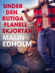Cover for Under den rutiga flanellskjortan - erotisk novell