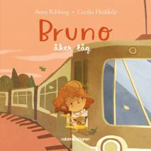 Cover for Bruno åker tåg