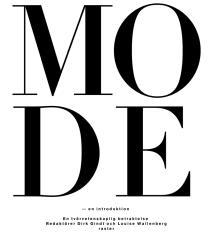 Cover for Mode - en introduktion