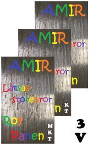 Cover for AMIR Låtsasstorebror (3 Versioner)