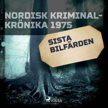 Cover for Sista bilfärden