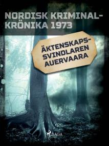 Cover for Äktenskapssvindlaren Auervaara