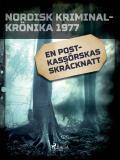 Cover for En postkassörskas skräcknatt