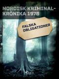 Cover for Falska obligationer
