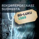Cover for Rikosreportaasi Suomesta 1989