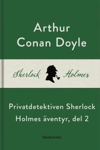 Cover for Privatdetektiven Sherlock Holmes äventyr, del 2