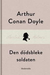 Cover for Den dödsbleke soldaten (En Sherlock Holmes-novell)