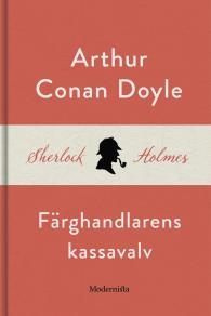 Cover for Färghandlarens kassavalv (En Sherlock Holmes-novell)