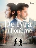 Cover for De fyra miljonerna
