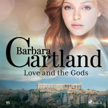 Cover for Love and the Gods (Barbara Cartland's Pink Collection 95)