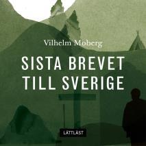 Cover for Sista brevet till Sverige / Lättläst