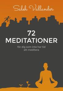 Cover for 72 meditationer – för dig som inte har tid att meditera