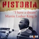 "Cover for ""I have a dream"" Martin Luther King Jr"