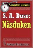 Cover for 5-minuters deckare. S. A. Duse: Näsduken. Återutgivning av text från 1921
