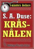 Cover for 5-minuters deckare. S. A. Duse: Kråsnålen. Berättelse. Återutgivning av text från 1922