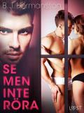 Cover for Se men inte röra - erotisk novell