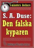 Cover for 5-minuters deckare. S. A. Duse: Den falska kyparen. Återutgivning av text från 1921