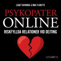 Cover for Psykopater online – Riskfyllda relationer vid dejting