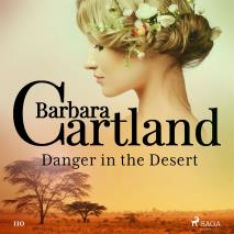 Cover for Danger in the Desert (Barbara Cartland's Pink Collection 110)