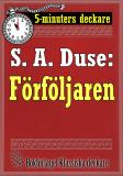 Cover for 5-minuters deckare. S. A. Duse: Förföljaren. Återutgivning av text från 1920