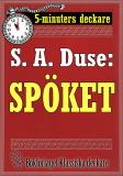 Cover for 5-minuters deckare. S. A. Duse: Spöket. Berättelse. Återutgivning av text från 1920
