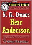 Cover for 5-minuters deckare. S. A. Duse: Herr Anderson. En historia. Återutgivning av text från 1920