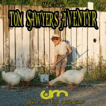 Cover for Tom Sawyers äventyr