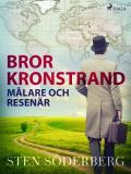 Cover for Bror Kronstrand: målare och resenär