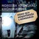 Cover for Mord och mordförsök i Månsarud
