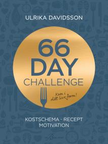 Cover for 66 day challenge: Kostschema, recept, motivation